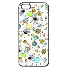 Space Pattern Apple Iphone 5 Seamless Case (black)