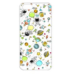 Space Pattern Apple Iphone 5 Seamless Case (white)