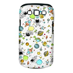 Space Pattern Samsung Galaxy S Iii Classic Hardshell Case (pc+silicone)