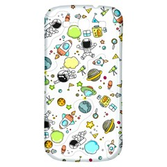 Space Pattern Samsung Galaxy S3 S Iii Classic Hardshell Back Case
