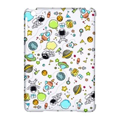 Space Pattern Apple Ipad Mini Hardshell Case (compatible With Smart Cover)