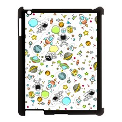 Space Pattern Apple Ipad 3/4 Case (black)