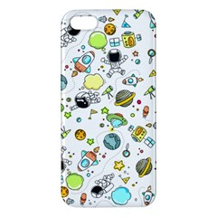 Space Pattern Apple Iphone 5 Premium Hardshell Case