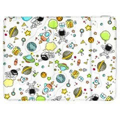 Space Pattern Samsung Galaxy Tab 7  P1000 Flip Case