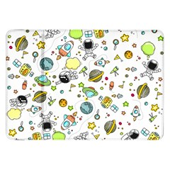 Space Pattern Samsung Galaxy Tab 8 9  P7300 Flip Case
