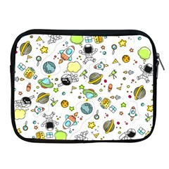 Space Pattern Apple Ipad 2/3/4 Zipper Cases