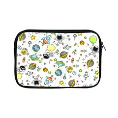 Space Pattern Apple Ipad Mini Zipper Cases