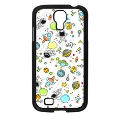 Space Pattern Samsung Galaxy S4 I9500/ I9505 Case (black)