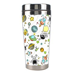 Space Pattern Stainless Steel Travel Tumblers