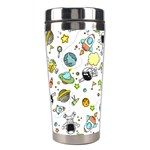 Space Pattern Stainless Steel Travel Tumblers Left