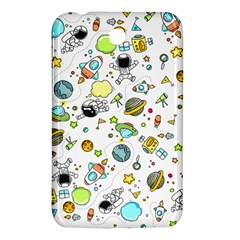Space Pattern Samsung Galaxy Tab 3 (7 ) P3200 Hardshell Case