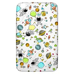 Space Pattern Samsung Galaxy Tab 3 (8 ) T3100 Hardshell Case