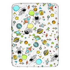 Space Pattern Samsung Galaxy Tab 3 (10 1 ) P5200 Hardshell Case