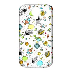 Space Pattern Samsung Galaxy S4 Classic Hardshell Case (pc+silicone)