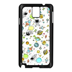 Space Pattern Samsung Galaxy Note 3 N9005 Case (black)