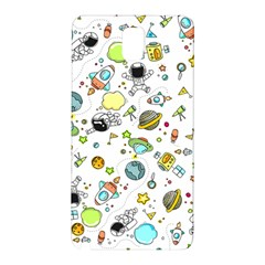 Space Pattern Samsung Galaxy Note 3 N9005 Hardshell Back Case