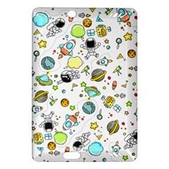 Space Pattern Amazon Kindle Fire Hd (2013) Hardshell Case