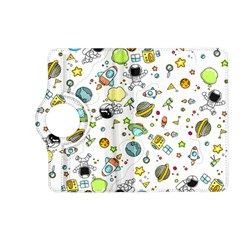 Space Pattern Kindle Fire Hd (2013) Flip 360 Case