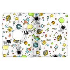 Space Pattern Kindle Fire Hdx Flip 360 Case
