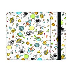 Space Pattern Samsung Galaxy Tab Pro 8 4  Flip Case