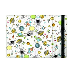 Space Pattern Ipad Mini 2 Flip Cases