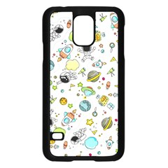 Space Pattern Samsung Galaxy S5 Case (black)