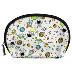 Space Pattern Accessory Pouches (large)