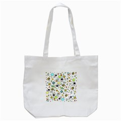 Space Pattern Tote Bag (white)