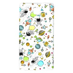 Space Pattern Galaxy Note 4 Back Case