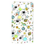 Space Pattern Galaxy Note 4 Back Case Front