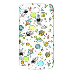 Space Pattern Samsung Galaxy Mega I9200 Hardshell Back Case