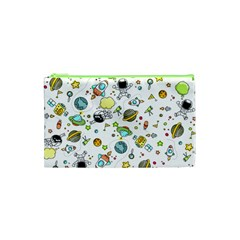 Space Pattern Cosmetic Bag (xs)
