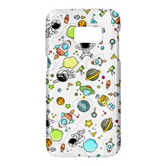 Space Pattern Samsung Galaxy S7 Hardshell Case