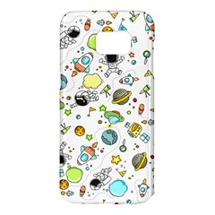 Space Pattern Samsung Galaxy S7 Edge Hardshell Case