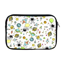 Space Pattern Apple Macbook Pro 17  Zipper Case