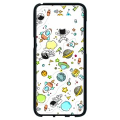 Space Pattern Samsung Galaxy S8 Black Seamless Case