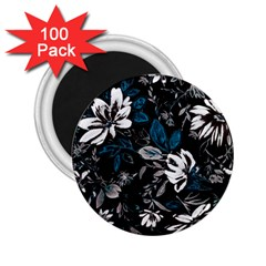 Floral Pattern 2 25  Magnets (100 Pack)