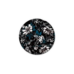 Floral Pattern Golf Ball Marker (4 Pack) by Valentinaart