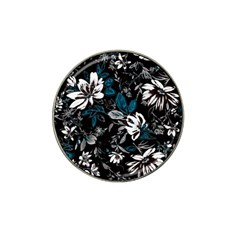 Floral Pattern Hat Clip Ball Marker (4 Pack)
