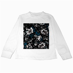 Floral Pattern Kids Long Sleeve T Shirts