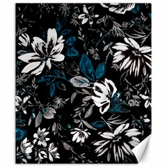 Floral Pattern Canvas 20  X 24
