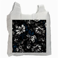 Floral Pattern Recycle Bag (two Side)