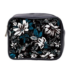Floral Pattern Mini Toiletries Bag 2 Side