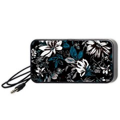 Floral Pattern Portable Speaker