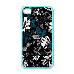 Floral Pattern Apple Iphone 4 Case (color)