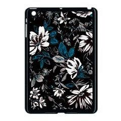 Floral Pattern Apple Ipad Mini Case (black)