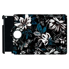 Floral Pattern Apple Ipad 2 Flip 360 Case