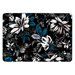 Floral Pattern Samsung Galaxy Tab 8 9  P7300 Flip Case