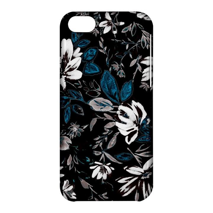 Floral pattern Apple iPhone 5C Hardshell Case