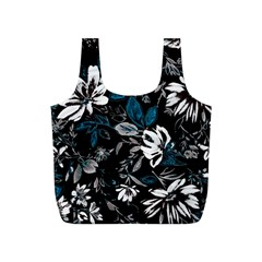 Floral Pattern Full Print Recycle Bags (s)